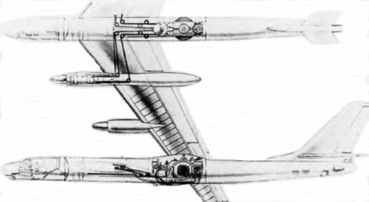 создание на базе Ту-95